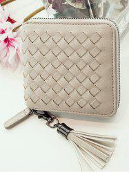 Zip Tassels Coin Purse