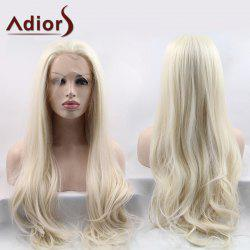 Adiors Ultra Long Shaggy Slightly Curled Lace Front Synthetic Wig