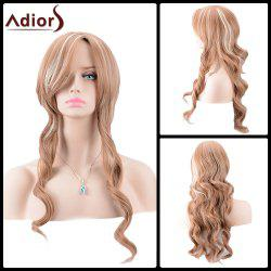 Adiors Long Side Parting Highlight Body Wave Synthetic Wig