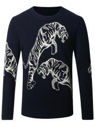 Thicken 3D Leopard Pattern Sweater -