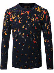 Thicken 3D Birds Pattern Sweater