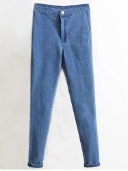 Skinny High Waist Tapered Jeans