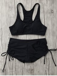 Lace Up Padded Sports Bikini Set