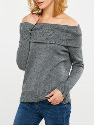 Convertible Off The Shoulder Sweater