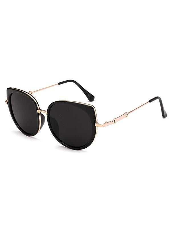 Unique Metal Full Rims Cat Eye Affordable Polarized Sunglasses