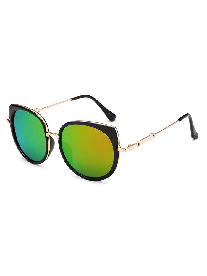Fancy Polarized Cat Eye Mirrored Affordable Sunglasses