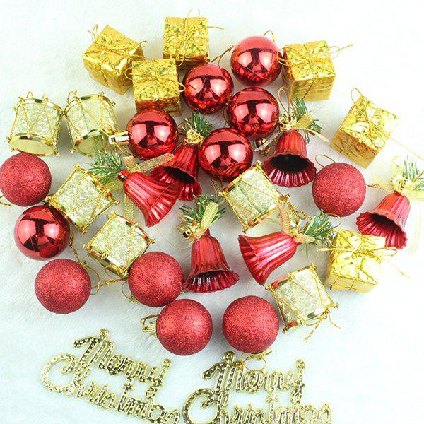 Latest Christmas Supplies Xmas Tree Party Decor Pendants Set