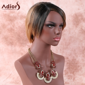Adiors Colormix Side Parting Straight Short Wig -