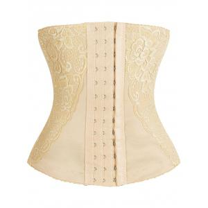 Lace Embroidery Waist Trainer Corset