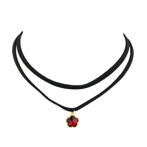 Floral Layered Choker Necklace