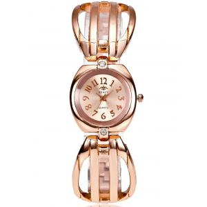 Vintage Hollow Out Stainless Steel Watch -
