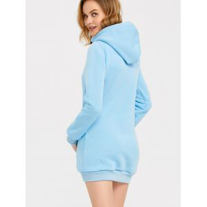 Candy Color Hooded Pullover Hoodie -