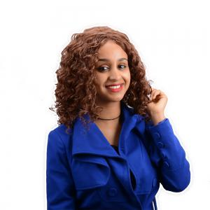 Long Curly Synthetic Wig -
