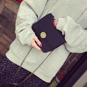 Flap Chains Mini Crossbody Bag -