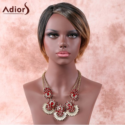 Cheap Adiors Colormix Side Parting Straight Short Wig