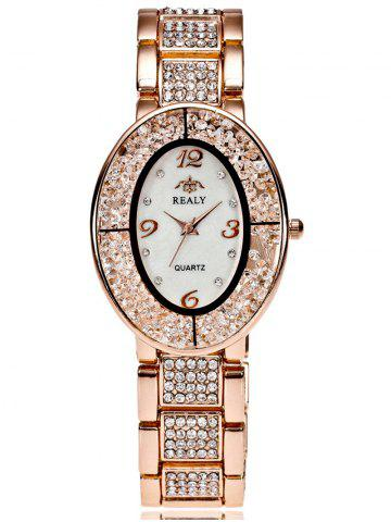 Shop Rhinestone Beads Stainless Steel Watch