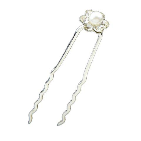 Fashion Concise Faux Pearl Hairpin