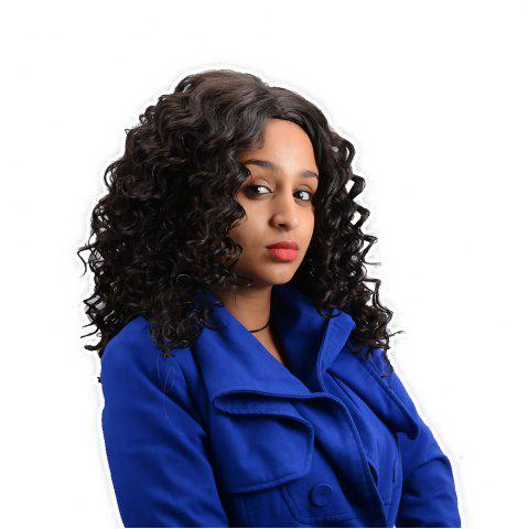 Buy Long Centre Parting Curly Synthetic Wig