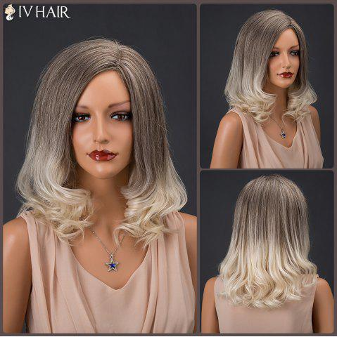 Outfit Siv Hair Medium Colormix Side Parting Wavy Real Natural Hair Wig