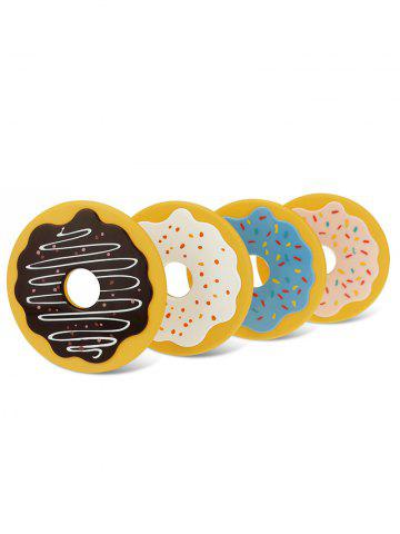 Chic 4PCS Cartoon Thermal Insulation Table Doughnut Coasters - COLORMIX  Mobile