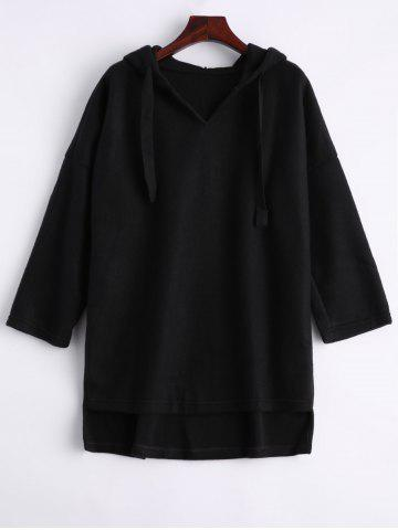 Chic High Low Oversized Hoodie