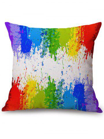 Store Rainbow Watercolor Cushion Cover Sofa Pillowcase