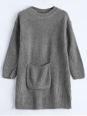 Outfits Chunky Knit Pocket Sweater
