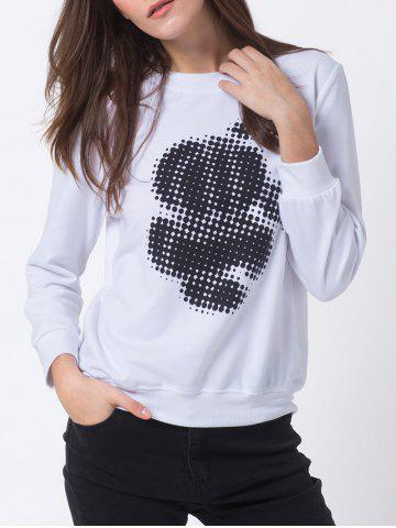Shops Dot Print Sweatshirt