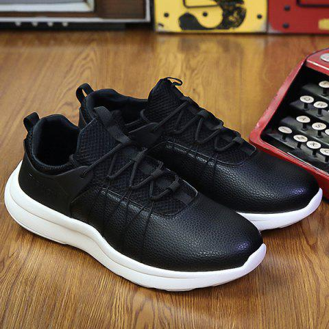 Shops Lace Up Mesh Panel Casual Shoes