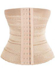 Stretchy Lace Panel Corset Training - COMPLEXION