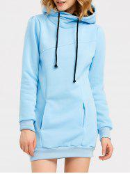 Candy Color Hooded Pullover Hoodie