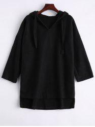 High Low Oversized Hoodie -