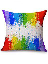 Rainbow Watercolor Cushion Cover Sofa Pillowcase -