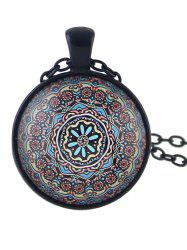 Mandala Pattern Pendant Necklace