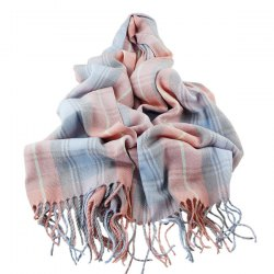 Tassel Plaid Shawl Wrap Scarf