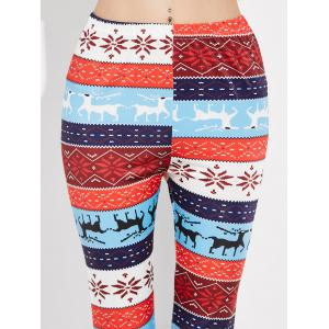 Snowflake Christmas Leggings - MULTI XL