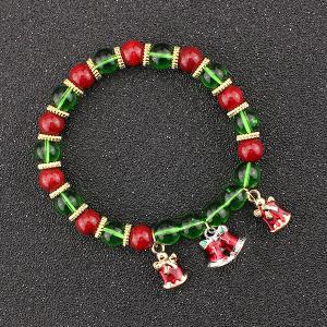 Christmas Bells Beaded Bracelet