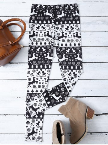 Shop Fawn Print Christmas Leggings