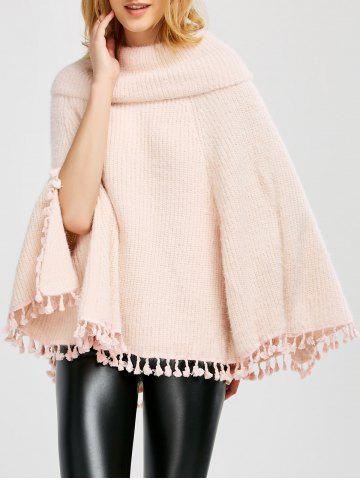 Shop Wool Poncho With Collar