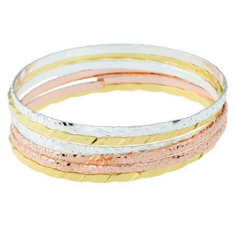 New Alloy Bracelet Set COLORMIX