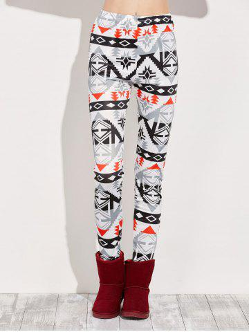 Outfit High Rise Leggings With Geometric Print MULTI XL