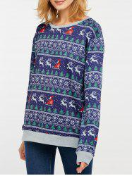 Christmas Drop Shoulder Sweatshirt -