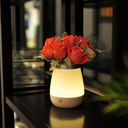 Dual Purpose Bedside LED Flower Vase Lamp