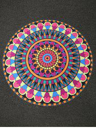 Bohemian Print Round Shape Beach Throw - TUTTI FRUTTI