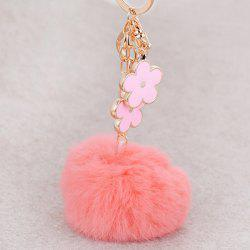 Bag Accessories Fuzzy Pom Ball Keyring