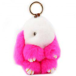 Rabbit Soft Plush Pendant Keyring Bag Keychain