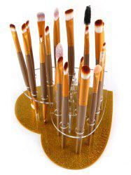Heart Shape Brush Stand Brush Holder