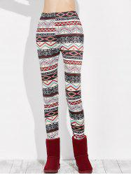 Slim Geometry Leggings - MULTI