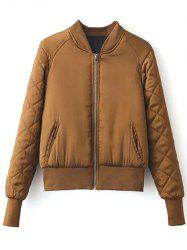 Stand Neck Padded Jacket -
