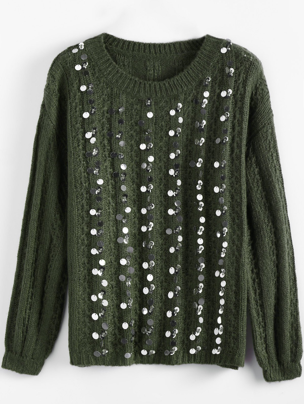 Best Crewneck Sequins Sweater